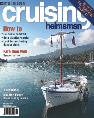 October Cruising Helmsman is a bit like cruising - you never know what you are going to get