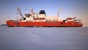 Icebreaker looking for industry partnerships