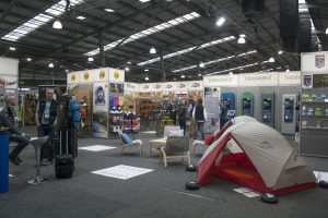 ORA trade show displays cutting-edge gear