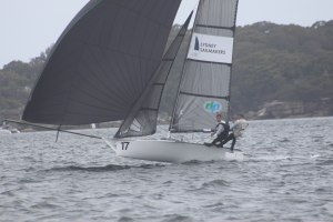 Press and Hay decisive 12ft Skiff Interdominion champions