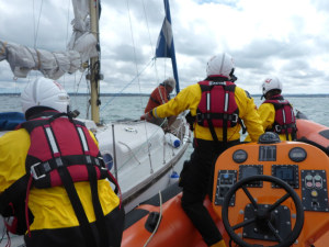 Engine failure causes sailor to call for help