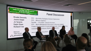 Industry leaders discuss the future of plastic