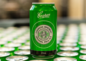 Coopers flagship beer now comes in a can