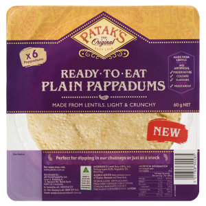 Patak's extends range with naans and pappadums
