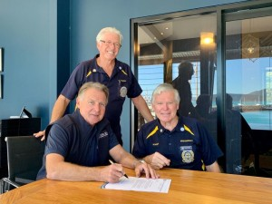Coral Sea Marina Resort commits support for essential marine rescue service