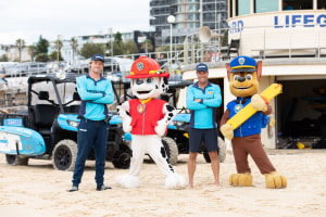 Nickelodeon recruits Bondi Lifeguards to spread water safety message