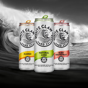 Lion expands into hard seltzer with White Claw