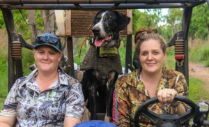 Female Northern Territory pig hunters leading by example