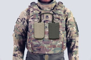 Pitbull: Wearable counter-drone technology for soldiers