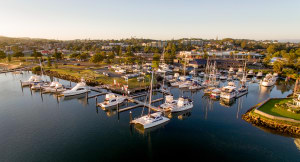 FOR LEASE: Marina slipway and hardstand