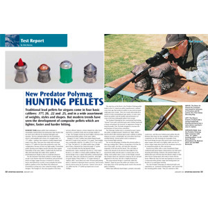 New Predator Polymag hunting pellets