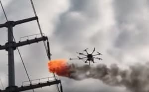 Drone use of the week #9 - what could go wrong?