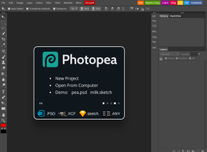 Photopea is a Photoshop clone for desktop - and it's free