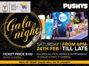 Save The Date - Pushys Gala Night - Sat 24th Feb 2018
