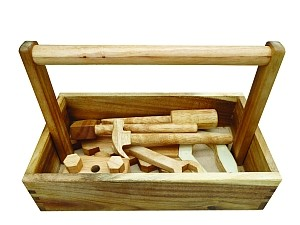 Product Spotlight: Natural Wooden Tool Set