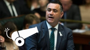 The Loose Cannon's Meeting with Deputy Premier John Barilaro