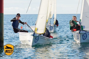 Scotch undefeated after first day of school team racing