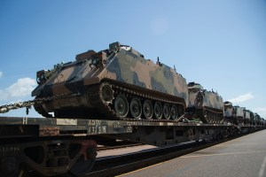 Defence uses rail for outback transport