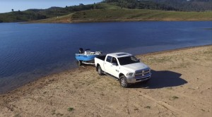 VIDEO: Ram trucks and Lake St Clair bass
