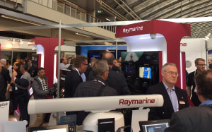 Raymarine showcases latest tech at METS