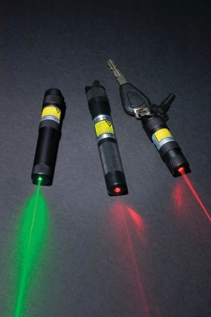 Why use a laser rescue flare?
