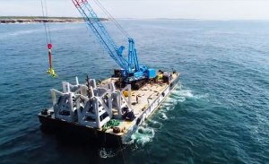 Video: Construction of John Dunphy artificial reef