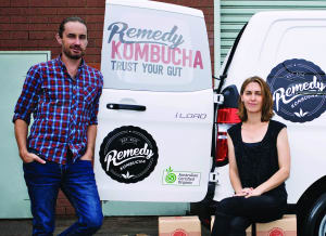 Kombucha kicks goals as 'gut wonder drink'