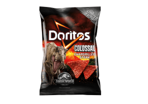 Steak-flavoured Doritos packs roar in-store