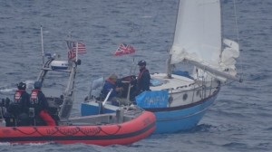 Solo sailor calls for help three times during Pacific crossing