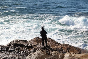 Rock fishing: three rules for life