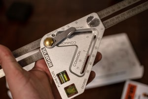 Roofus carpentry combination square