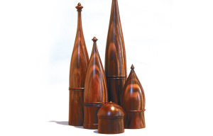 Inspired By Architecture: Turning Lidded Boxes
