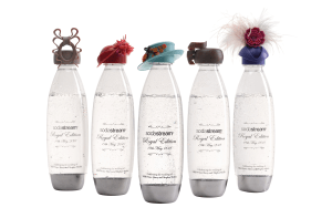 SodaStream launches bottles with hats worn by royals