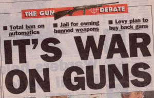 Major Papers Lift The Lid On The Lie That Saw Gun Shops Closed