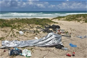 Calls to dob in 'disgusting' beach dumpers