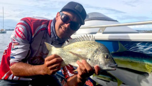 Catch and Release fishing comp Grand Final - Sydney International Boat Show