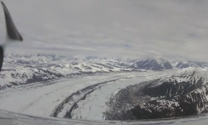 FRIDAY FLYING VIDEO: Exploring the Ruth Glacier