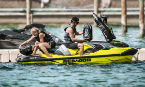 Sea-Doo's winning by design