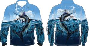 Samaki Black Marlin Shirt