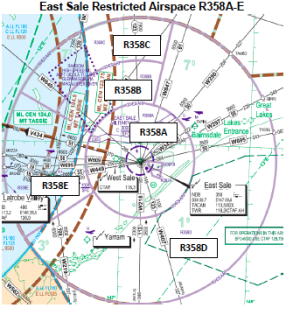 East Sale Airspace Information