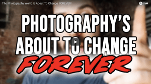 Video: Is the photography world about to change completely?