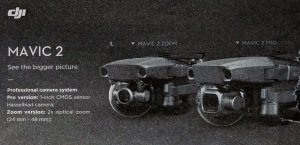 DJI's Mavic 2 will come in both a pro and zoom version