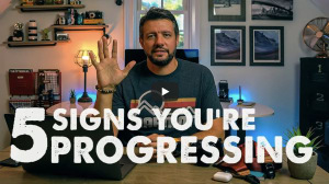 Video: 5 signs you're progressing in photography