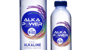 Water brand adds power to its packaging