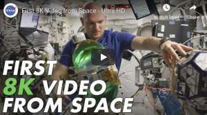 Video: NASA shares first 8K footage captured in space