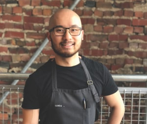 Keep your eyes on Khanh Nguyen, head chef at Melbourne's Sunda