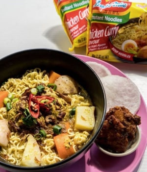 An Indomie Instant Noodles diner has popped up in Melbourne