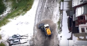 VIDEO: The Landslide That Stopped The Tour de France