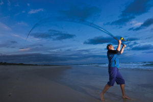 "Gone Fishing Day: ""Come 'N' Try Beach Fishing"" at Inverloch"