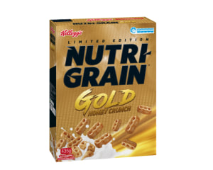 Honey crunch for limited edition Nutri-Grain
